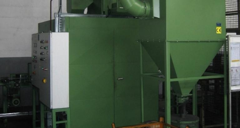 Shot blasting machine for blasting of flat steel – PL