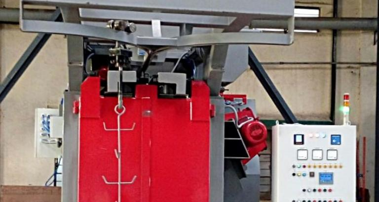 Spinner hanger shot blasting machine – VK Basic