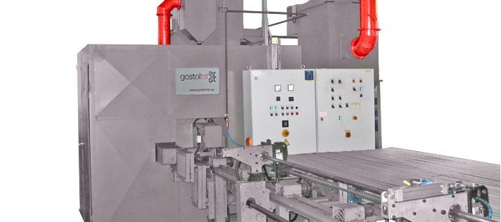 Shot blasting machine for flat steel – PL