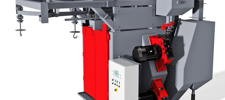 Spinner hanger blasting machine – VK Basic